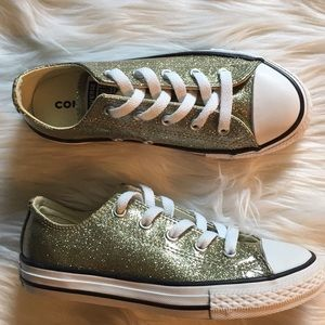 New Sparkly Converse (girls)